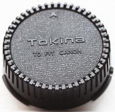 Tokina Rear Lens Cap For Canon FD Mount Lenses