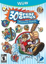 NINTENDO WII U GAME FAMILY PARTY 30 GREAT GAMES OBSTACLE ARCADE BRAND NEW SEALED