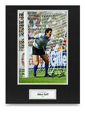 Dino Zoff Signed 16x12 Photo Autograph Italy Memorabilia Display COA