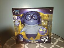 Disney Pixar INSIDE OUT MOVIE Deluxe Talking Action Figure Doll SADNESS