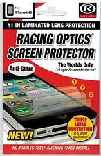iPhone 4/4S Screen Protector Racing Optics iPhone Tear Off **3 Layers**