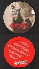 BD - Bierdeckel - Beermat ,Tschechien , Budweiser ,Budvar aus Budweis, Südböhmen