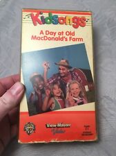 Kidsongs A Day at Old MacDonald's Farm VHS View Master Video Vintage VCR