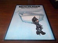 1977 Mercruiser Outboard Motors Sales Brochure