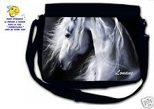 Sac bandoulière moyen modèle cheval réf 24 personnalisé avec prénom
