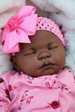 BUTTERFLY BABIES REBORN BABY DOLL FAKE BABY GIRL AA ETHNIC S