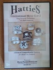 Hatties Contemporary Metal Clay 2 Ring Forming Techniques - 1 DVD