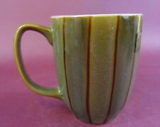 Gibson Everyday Green Coffee Cup Mug Bamboo Design Made in China