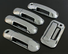 2007-2010 FORD EXPLORER SPORT TRAC CHROME DOOR + TAILGATE HANDLE COVER