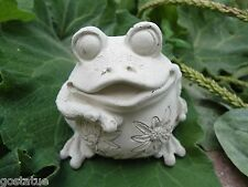 small Latex frog mold plaster concrete casting garden mould