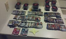 70 NARUTO CARDS ASSORTED LOT DECK WITH FOIL & RARES! TWO BOOSTER PACKS Headband