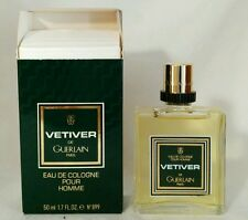Eau de cologne vintage VETIVER GUERLAIN 50 ml splash