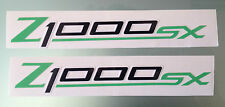 Z1000SX Fairing Decals / Stickers (No Background) (Any Colour)