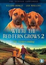 Where the Red Fern Grows: Part 2, Good DVD, Doug McKeon, Wilford Brimley, Chad M