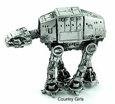 Star Wars Imperial AT AT Hoth Imperial Walker Micro Machines Galoob AtAt Silver
