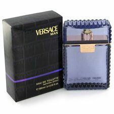 Versace Man Cologne by Versace, 3.4 oz EDT Spray for Men NEW