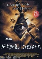 Victor Salva's JEEPERS CREEPERS (Justin Long) NEU+OVP OHNE FSK-Logo!