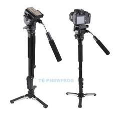 Yunteng C288 Tripod Pro Monopod+Fluid Pan Head +Holder for Canon Nikon Camera