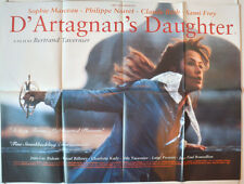 D'ARTAGNAN'S DAUGHTER (1995) Original Cinema Quad Movie Poster - Sophie Marceau