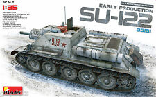 CANON AUTOMOTEUR SOVIETIQUE SU-122,  1943 - KIT MINIART 1/35 n° 35181