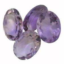 30.78 ctw Oval Mixed Amethyst Parcel Lot 87