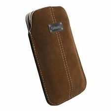 Krusell Soft Suede Case Cover Pouch Sleeve for Mobile Phone iPhone 4 4S 5