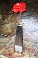 Plaque For Tower Of London WW1 Ceramic Poppy Metal Display Stand
