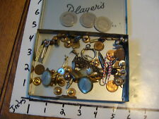 mixed lot of tie tacks, tokens, etc