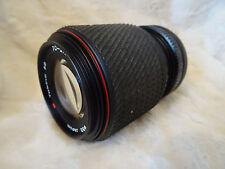 Tokina SZ-X 70-210mm Zoom w/Macro f4-5.6 MF Canon FD Mount Lens