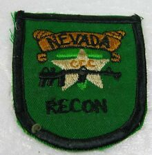 P35  South Vietnam War RVN or US Military RECON NEVADA Shoulder Patch