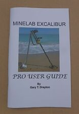 MINELAB EXCALIBUR BOOK AND HOW TO FIND OLD COINS AND ARTIFACTS AT THE BEACH BOOK