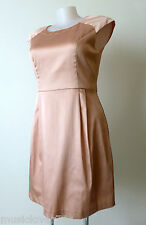 Review Dress Size 16 or US 12 Pink With Cap Sleeves And Lace