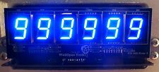 6-Digit Replacement Display Kit for Bally/Stern Pinballs - Blue digits