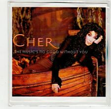 (FO943) Cher, The Music's No Good Without You - 2001 DJ CD