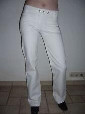 blutsschwester Jeans Hose blutsgeschwister S W27 W28 W29 L32 weiß Neu OVP TOP