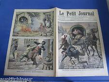 Le petit journal 1908 911 une femme au révolver se débarasse de bandits