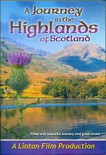 A JOURNEY IN THE HIGHLANDS OF SCOTLAND DVD - NEW RELEASE 2015