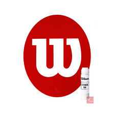 Wilson Tennis Stencil and Wilson White Stencil Ink