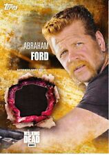 The Walking Dead 5 temporada Disfraz reliquia tarjeta Abraham Ford/99