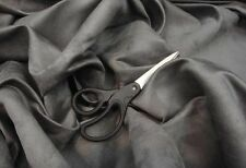 """Upholstery Suede fabric Micro faux  58"""" Wide Charcoal  Drapery Fabric 30 yards"""