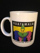 Starbucks Guatemala Coffee Mug Cup Coffee Tea Clown Mime Wizard Circus 1990s