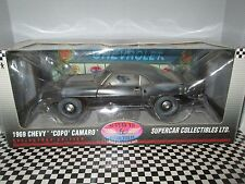 """HIGHWAY61/DCP 1/18 1969 CHEVY """"COPO"""" CAMARO IN BLACK BARN FIND (USED IN BOX)"""