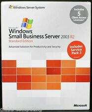 Microsoft Windows Small Business Server SBS 2003 R2 Edition Standard T72-01411