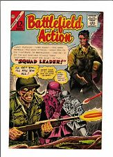 "BATTLEFIELD ACTION #62  [1966 VF-NM]  ""SQUAD LEADER!"""