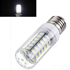 White E27 2400LM 15W 48-LED 5730 SMD 220V  Light High Bright Corn Bulb Lamp