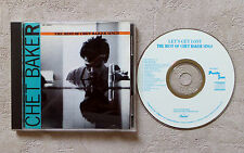 "CD AUDIO INT / CHET BAKER ""THE BEST OF CHET BAKER SINGS"" CD COMPILATION 1989 20T"