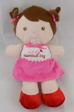 Carters Just One You My First Valentine's Day Doll Lovey 9""