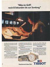 TISSOT PR 100  - Annonce - advert - historische Reklame - Anzeige -
