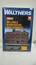 Walthers Cornerstone HO Reliable Warehouse and Storage Kit #933-3014 New in Box