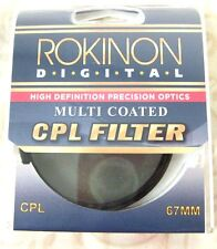 67mm Digital CPL Circular Polarizing Polar C-PL Multi-Coated Glass Lens Filter